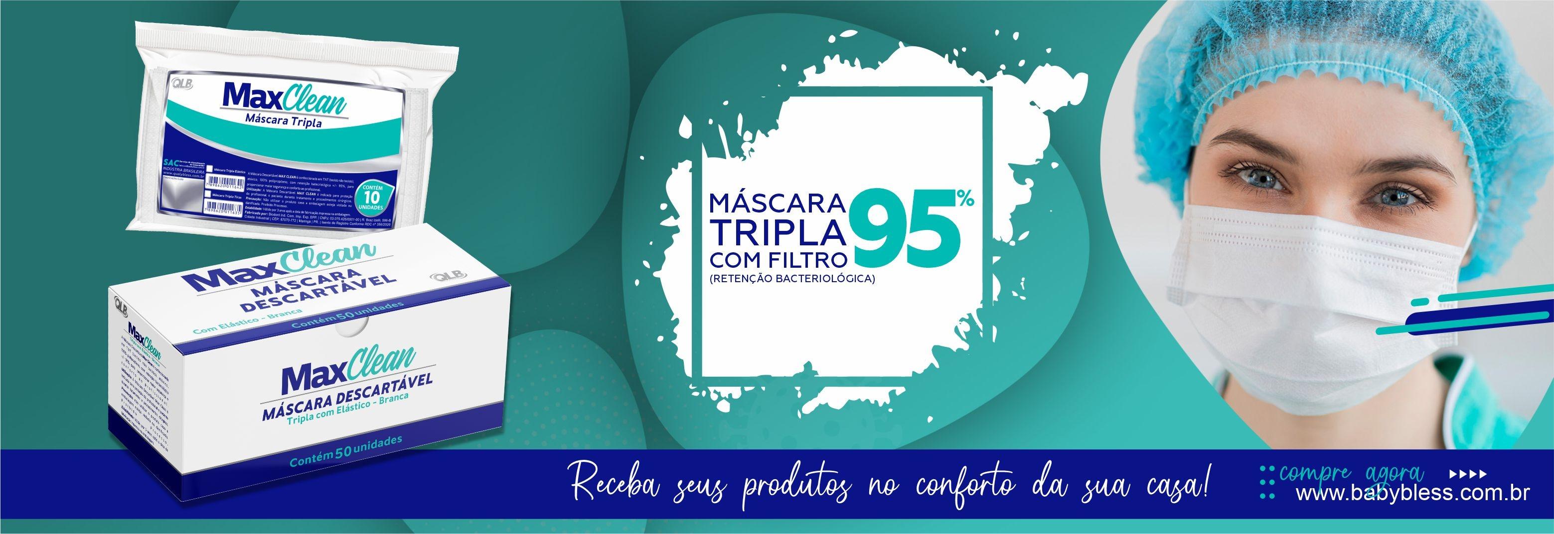 Banner Mascara max clean